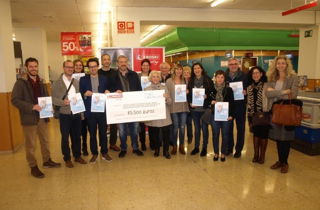 Donación Campaña Navidad Eroski